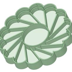 Tentacion redonda.png Télécharger fichier STL Temptation Cookies 6 cm cutter • Objet à imprimer en 3D, osval74