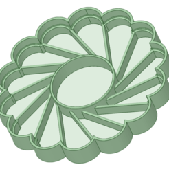 Tentacion redonda.png Download STL file Temptation Cookies 6 cm cutter • 3D printer template, osval74