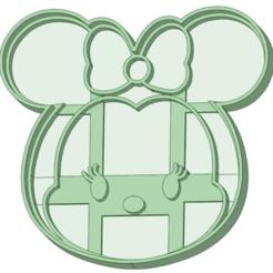 Download 3D printing designs Minnie Tsum Tsum cookie cutter, osval74