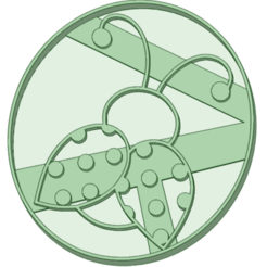 Télécharger fichier 3D Ladybird 1 emporte-pièce à biscuits, osval74