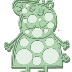 Download 3D model Mamma Pig cookie cutter, osval74