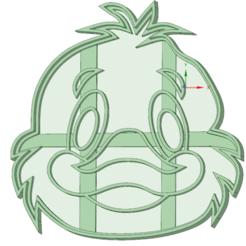 Download 3D printer model Duck cookie cutter, osval74