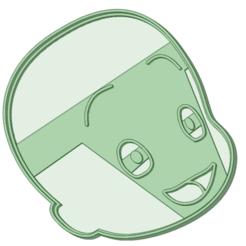 Descargar modelos 3D Cuquin cookie cutter, osval74