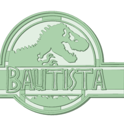 Download 3D print files Bautista cookie cutter, osval74