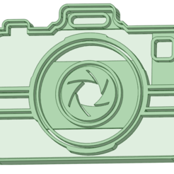 Camara 1_e.png Download STL file Camera 1 cookie cutter • 3D printing design, osval74