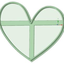 Archivos 3D Corazon desigual cookie cutter, osval74