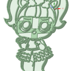 Descargar archivo 3D Lol 2 entera cookie cutter, osval74