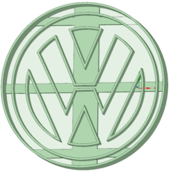 3D print files VW cookie cutter, osval74