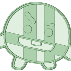 Shooky.png Download STL file BT21 Shooky cookie cutter • Object to 3D print, osval74