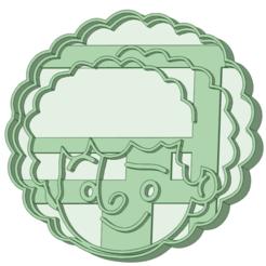 Dan_1.png Download STL file Dan cookie cutter • 3D printer object, osval74