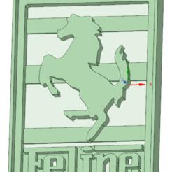 Diseños 3D Felipe Ferrari cookie cutter, osval74