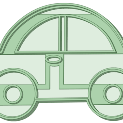 Auto 4_e.png Télécharger fichier STL Auto 4 biscuit cutter • Design à imprimer en 3D, osval74