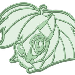 2_1.png Download STL file Rainbow Dash 2 cookie cutter • 3D printer model, osval74