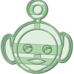 4_e.png Download STL file Teletubbies 4 cookie cutter • Design to 3D print, osval74