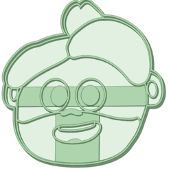 Mona_lisa.png Download STL file Mona Lisa songs from the zoo cookie cutter • Model to 3D print, osval74