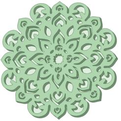 Mandala_e.png Télécharger fichier STL Mandala moule à biscuits • Plan pour imprimante 3D, osval74