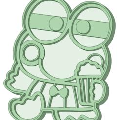 Impresiones 3D Keroppi cokkie cutter, osval74