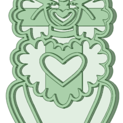 1_e.png Download STL file F Burns Poodle cookie cutter • 3D printable design, osval74