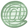 Download 3D printing files Arroba cookie cutter @, osval74