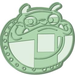 6_e.png Télécharger fichier STL Chiot chien 6 coupeur de biscuits • Design imprimable en 3D, osval74
