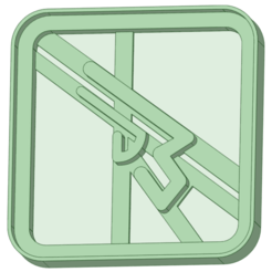 8_e.png Descargar archivo STL Final Fantasy 8 cookie cutter • Plan de la impresora 3D, osval74