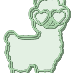 Download STL Whole sheep cookie cutter, osval74