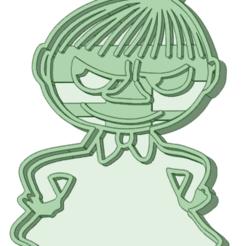 Pequeña My_1.png Télécharger fichier STL L'emporte-pièce Little My Moomin • Plan à imprimer en 3D, osval74