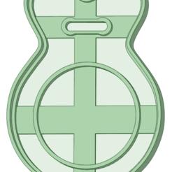 Télécharger fichier imprimante 3D Castagnettes à l'emporte-pièce, osval74
