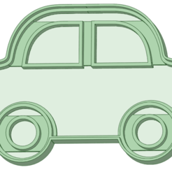 Auto_3_e.png Télécharger fichier STL Auto 3 coupe-biscuits • Plan à imprimer en 3D, osval74