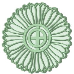Girasol_e.png Download STL file Sunflower cookie cutter • 3D printer design, osval74