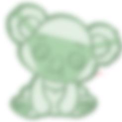 3D printer models Koala baby cookie cutter, osval74