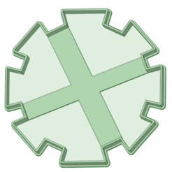 Sol contorno_e.png Download STL file Sun contour cookie cutter • 3D printer model, osval74