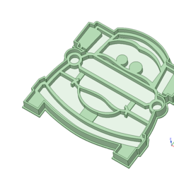 Descargar modelos 3D para imprimir Mate (Cars) Cookie cutter, osval74