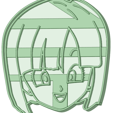 Download 3D printing templates Bulma cookie cutter, osval74