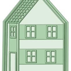 Casa_e.png Télécharger fichier STL House Peppa Pig cookie cutter • Plan à imprimer en 3D, osval74