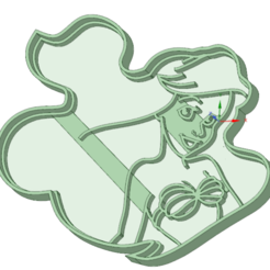 Download 3D print files Ariel cookie cutter, osval74