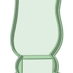 Contorno_e.png Télécharger fichier STL Découpe de biscuits au contour de lapin • Plan pour impression 3D, osval74