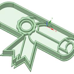 3D printer files Diploma graduacion cookie cutter, osval74