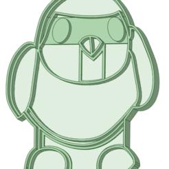 Robin_e.png Télécharger fichier STL Robin Cookie Cutter • Plan à imprimer en 3D, osval74