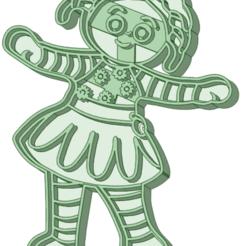 8_e.png Descargar archivo STL In the night garden 8 cookie cutter • Objeto para impresión 3D, osval74