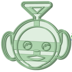 3_e.png Download STL file Teletubbies 3 cookie cutter • 3D printable design, osval74
