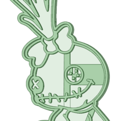 Scrump.png Télécharger fichier STL L'emporte-pièce Scrump • Modèle imprimable en 3D, osval74