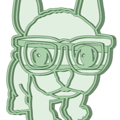 Download STL file Simon with cookie cutter glasses, osval74