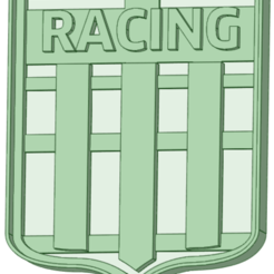 Download STL files Racing club cookie cutter, osval74