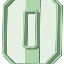 Télécharger fichier STL Abécédaire complet Fondant de coupe universitaire, osval74