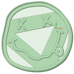 Diseños 3D Nirvana logo cookie cutter, osval74