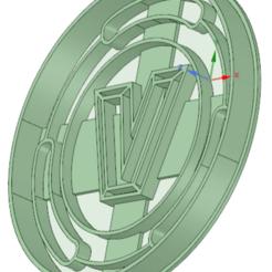 Imprimir en 3D Moneda Fortnite cookie cutter, osval74