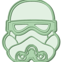 Download 3D printing designs Stormtrooper cookie cutter, osval74
