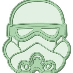 Descargar archivos 3D Stormtrooper cookie cutter, osval74