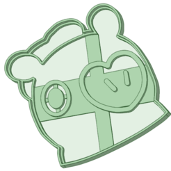 Mang.png Download STL file Mang BT21 cookie cutter • Design to 3D print, osval74